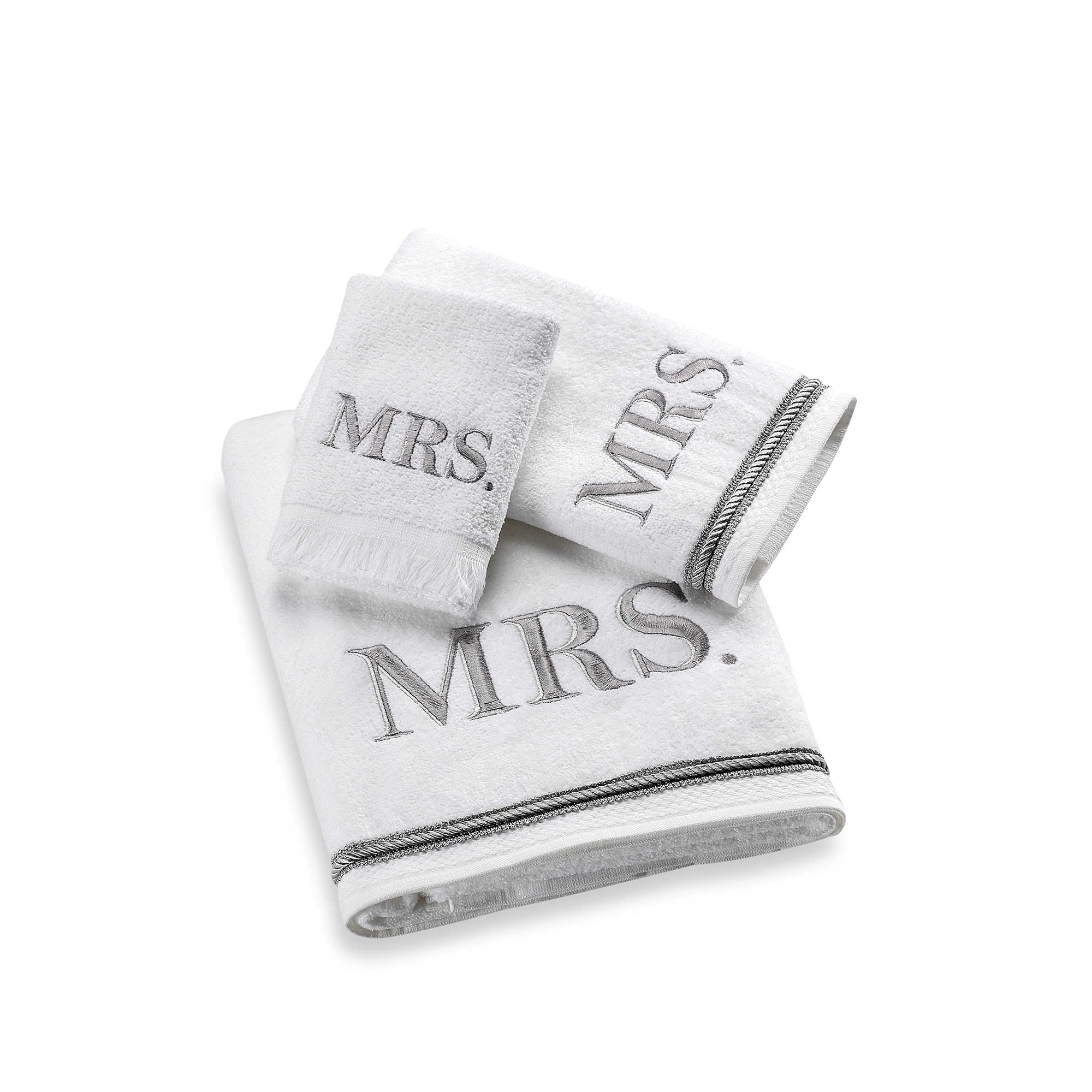 Monogram Towels For Bathroom: Monogrammed Guest Towels