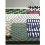 Random Style Design Of Chevron Runner Rug