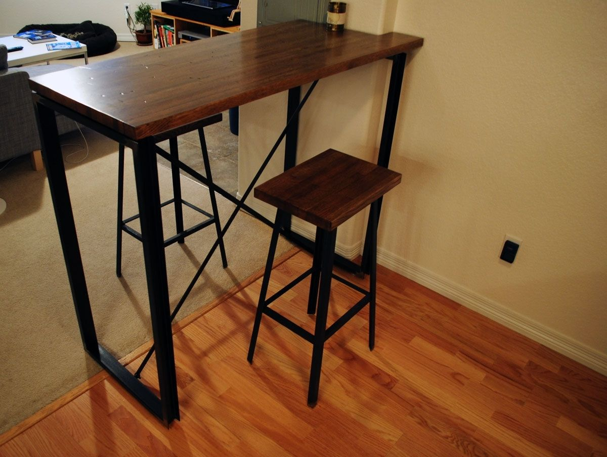 Industrial Pub Table Design