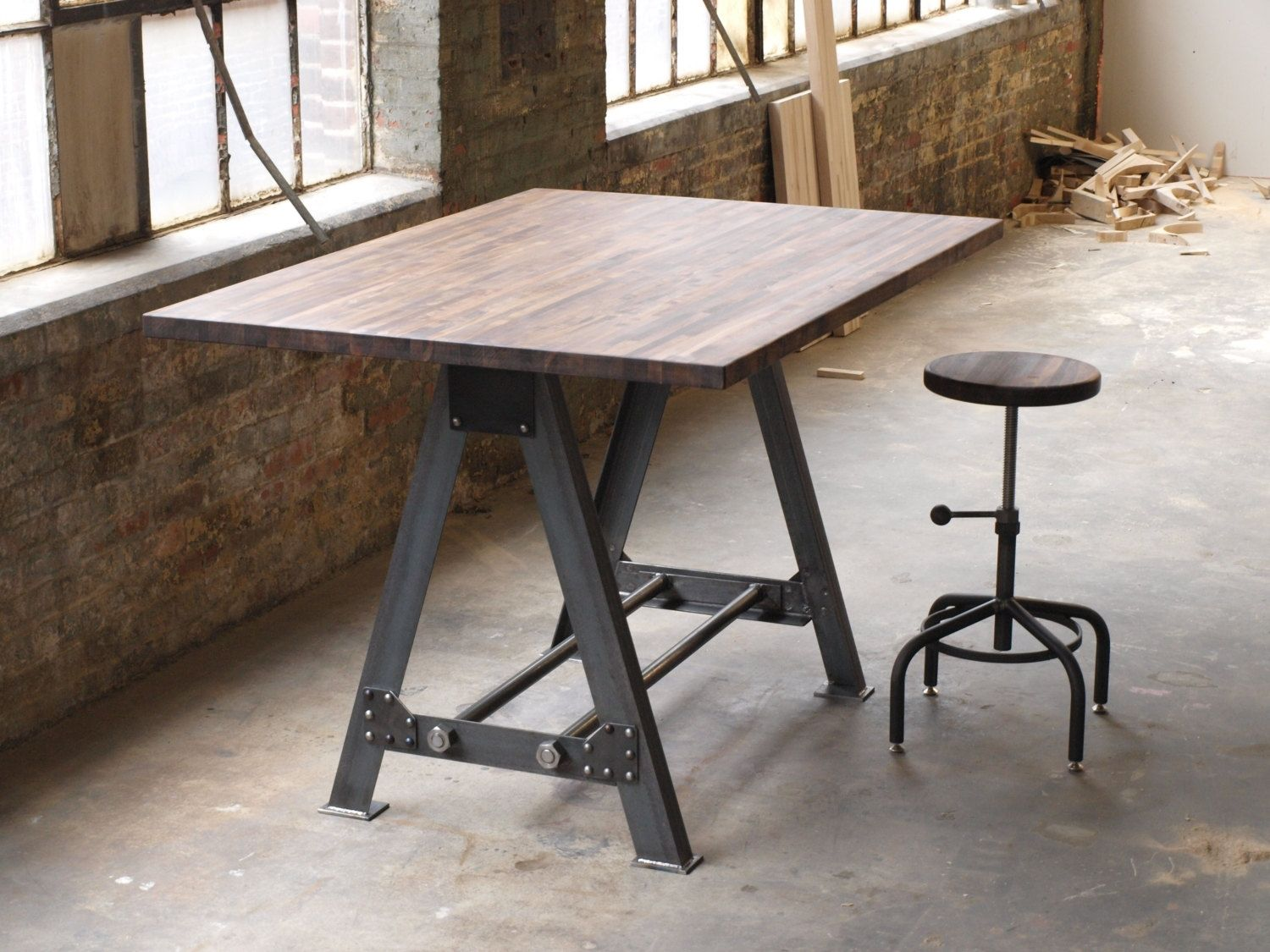 Industrial Pub Table Design Homesfeed