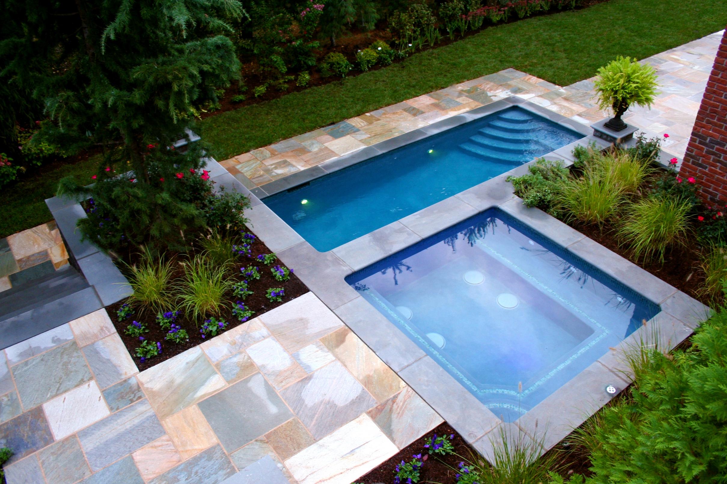 small rectangular pool designs.  Rectangular Rectangular Pool Design For Small Yards Designs