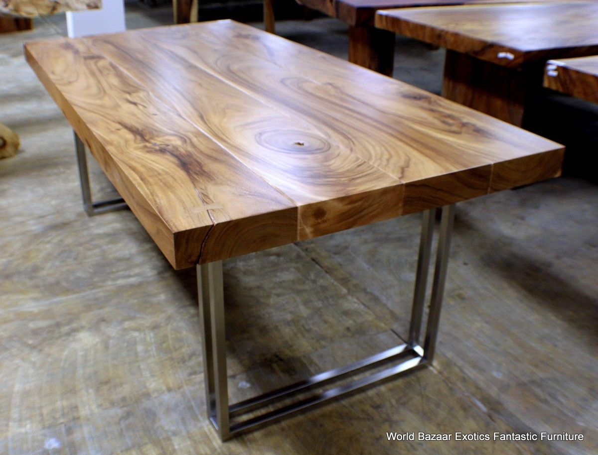 Dining room table legs wood
