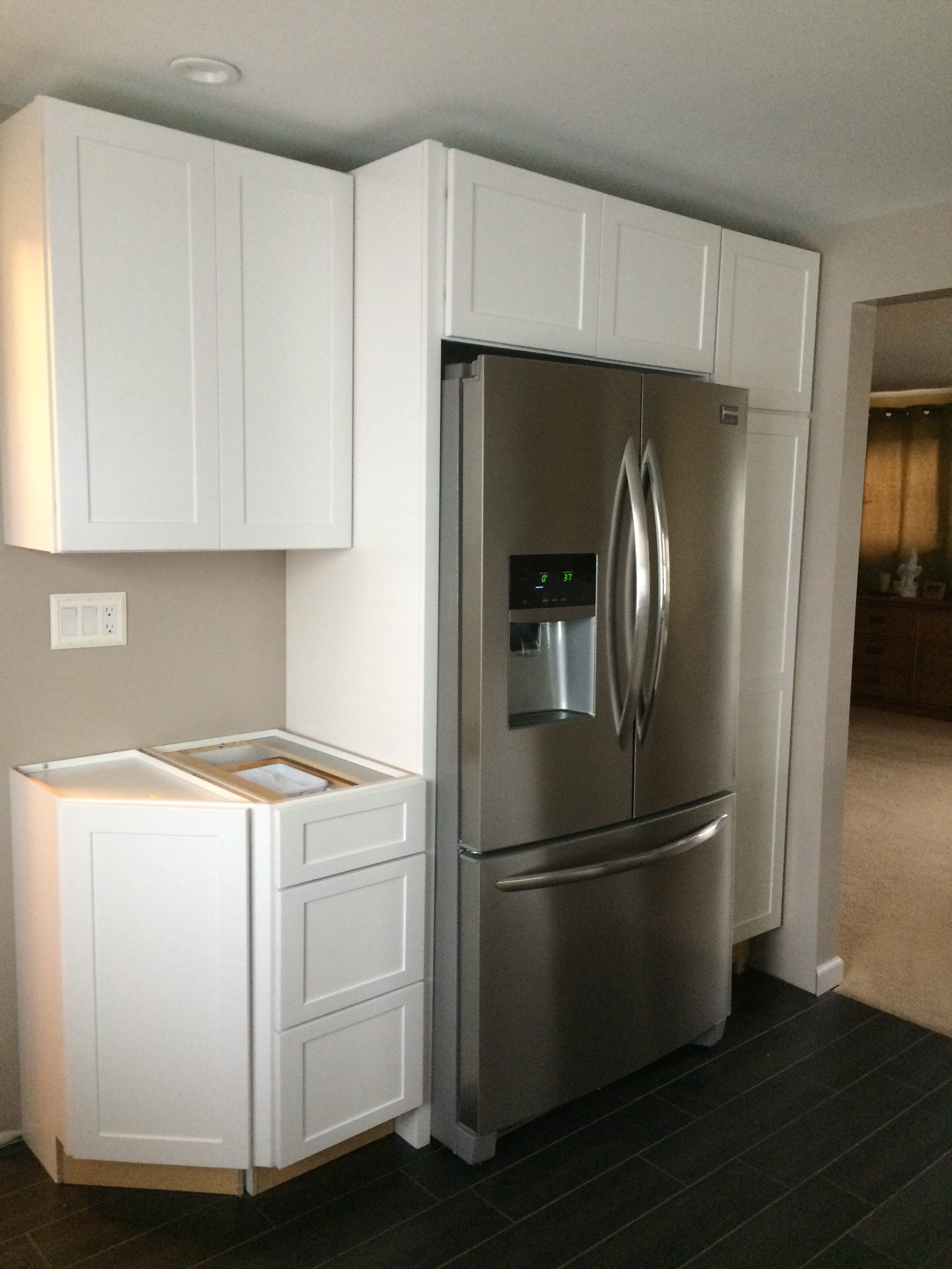 kitchens reviews go homesfeed refrigerator on kitchen set cabinets to