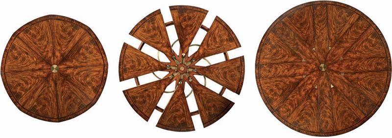 Robert Jupe Original Design Of Expanding Round Table