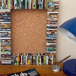 Rolled Magazines For Making Cool Cork Board