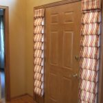 Sidelight Window Treatments Layered