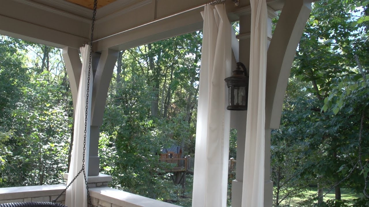 Outdoor Curtain Panels Inspiration Homesfeed