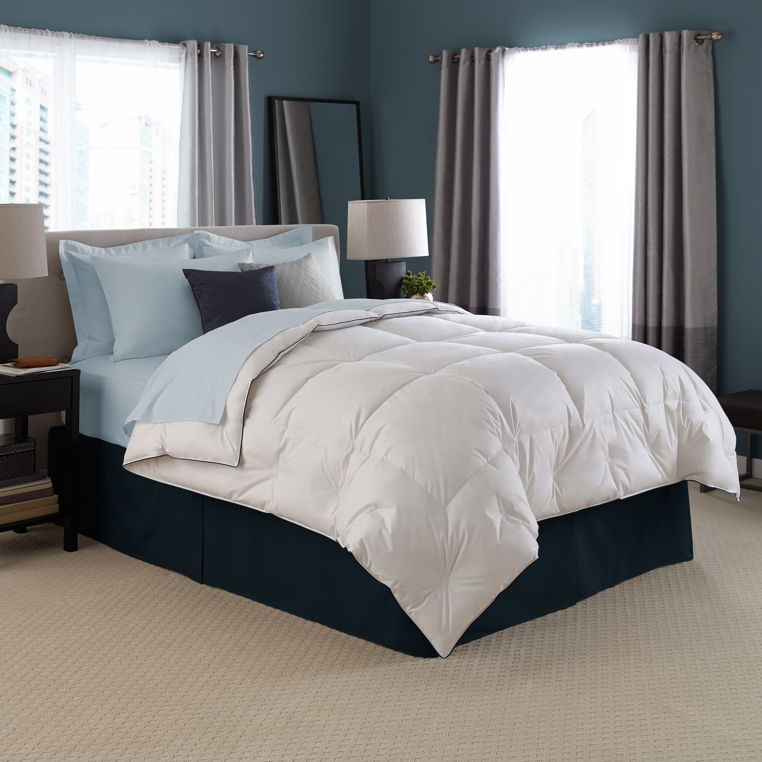 High end linens for your bedroom homesfeed for Minimalist bed sheets