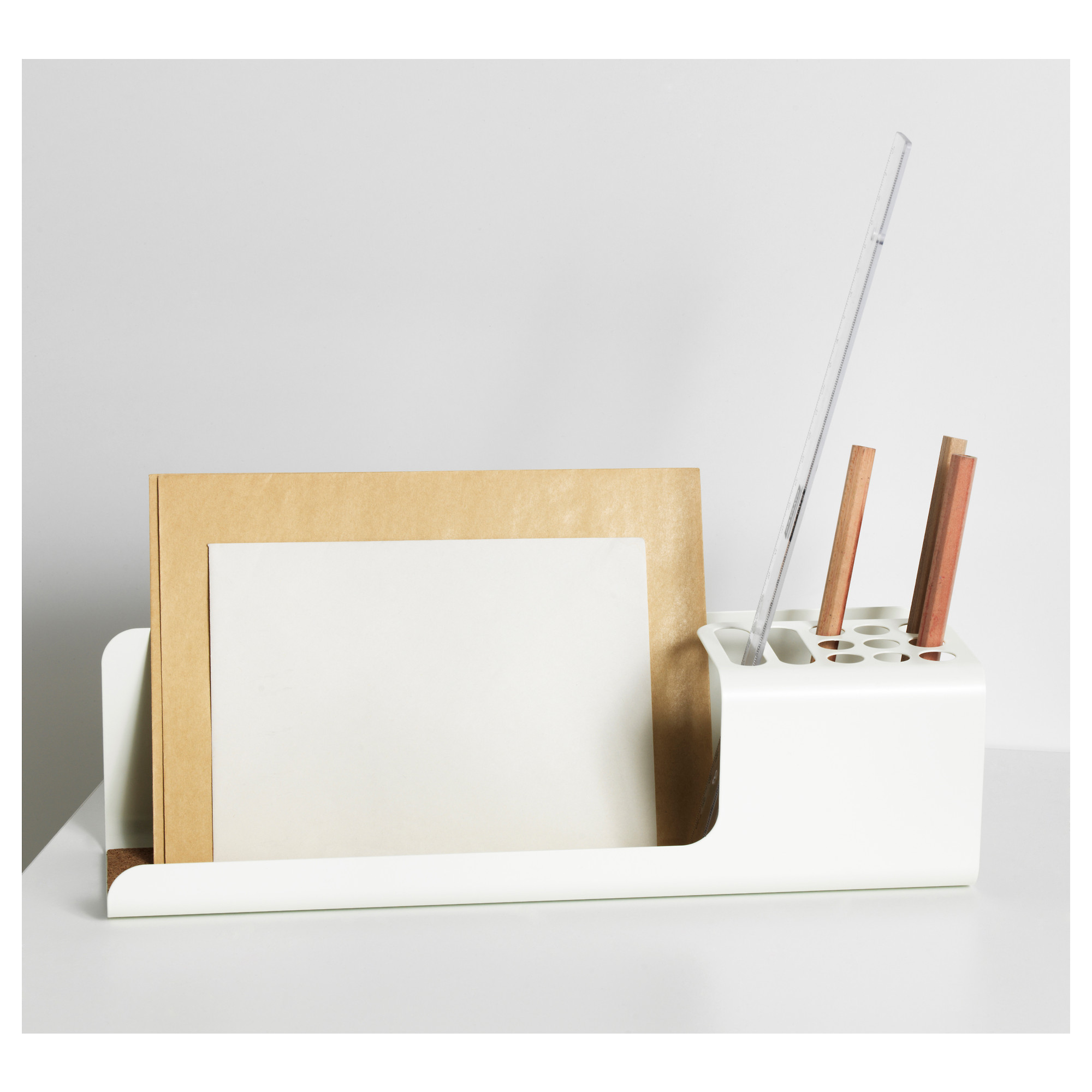 ikea office accessories. Simple Organizer With White Color For Pens And Paperwork From Ikea Office Accessories K