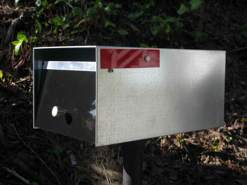 Mid Century Modern Mailbox Design And Color Options