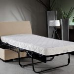 Sleeper sofa with pull out bed and mattress
