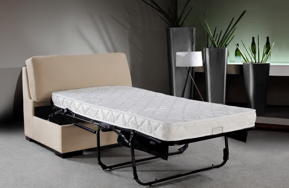 The Series of Chairs that Convert to Beds HomesFeed : Sleeper sofa with pull out bed and mattress from homesfeed.com size 950 x 621 jpeg 35kB
