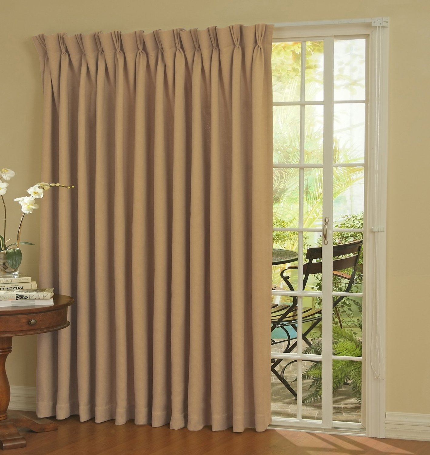 patio door curtain ideas | homesfeed - Patio Curtains Ideas