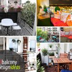 Small Balcony Design Ideas With Small Balcony Furniture