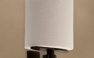 Solid Bronze Classique Vertical Toilet Paper Holder. Zoom