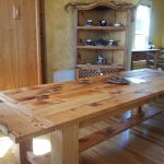 Solid Real Wood Dining Table