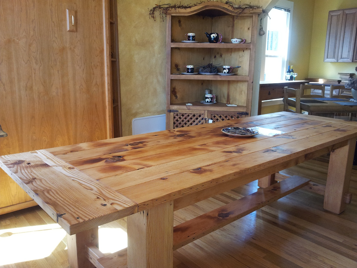 Diy Rustic Dining Room Table best pine dining room tables pictures - rugoingmyway