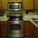 Space Saver Microwave Above Kitchen Stove