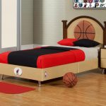 Sport Boy Theme For BEdroom With Cool Best Color Wall Paint