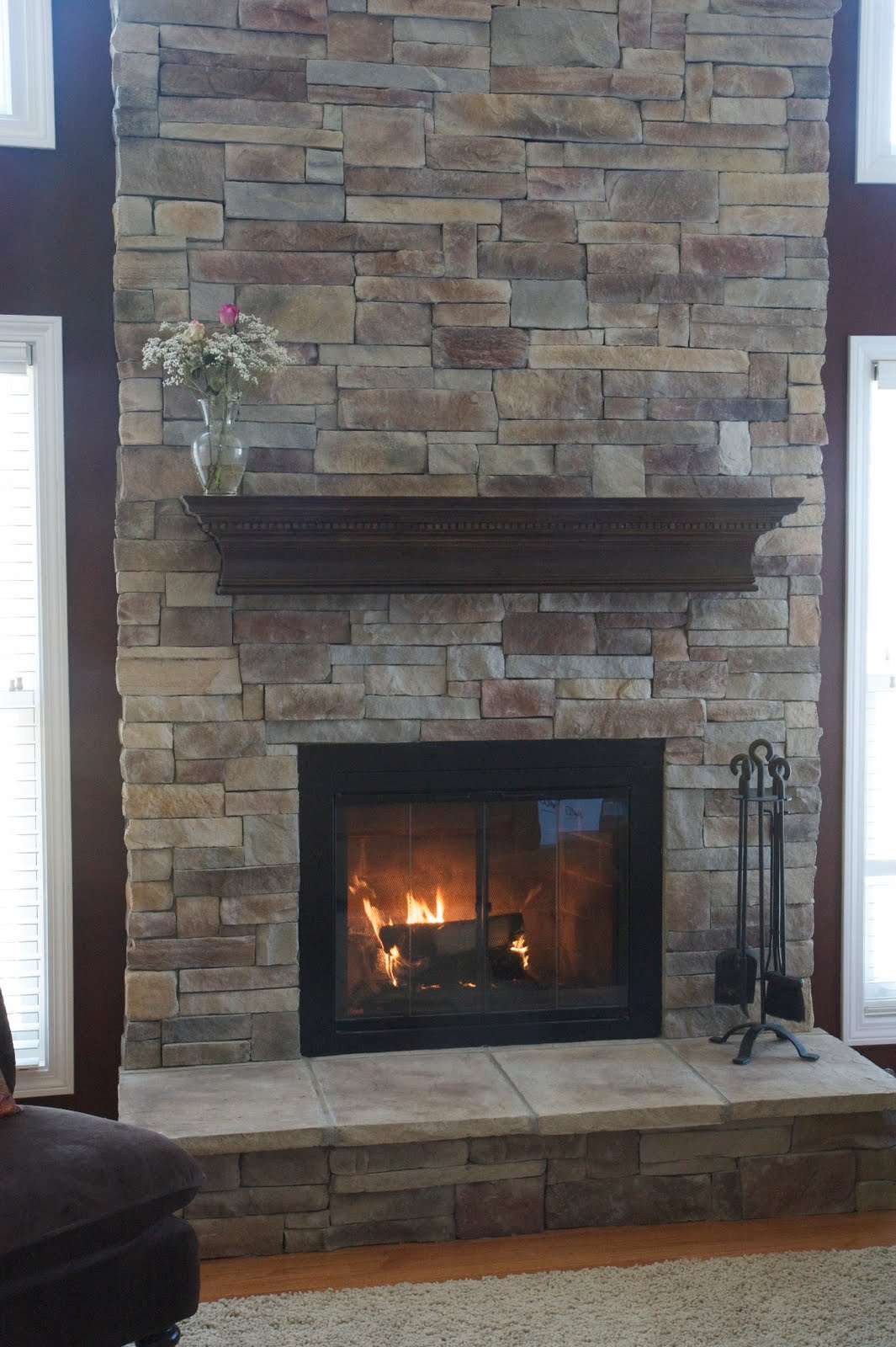 stone fireplace design - Stone Fireplace Design Ideas