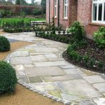 Stone Garden Footpath Designs For Home