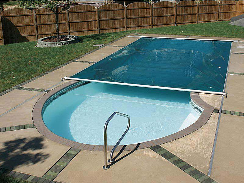 Swimming Pool with Cover | HomesFeed