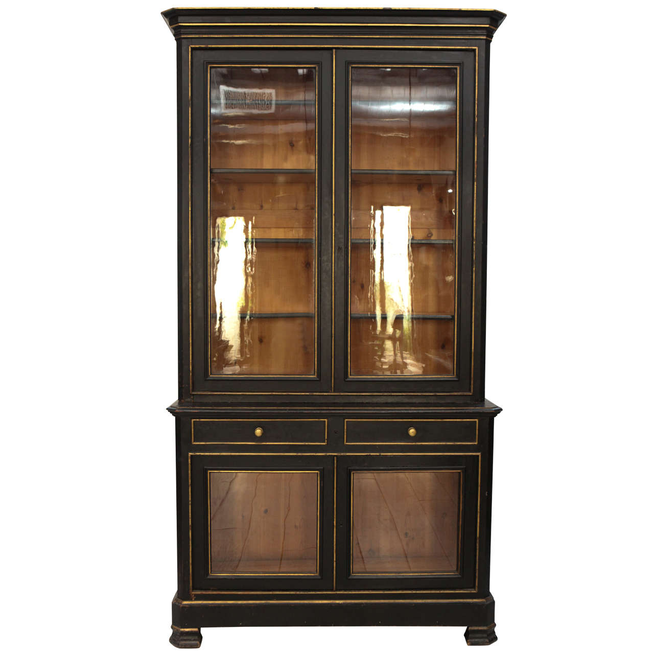 tall china cabinet solving storage issues homesfeed. Black Bedroom Furniture Sets. Home Design Ideas