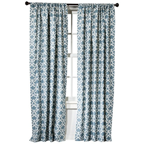 Threshold™ Farrah Fretwork Curtain Panel With Detailed Design