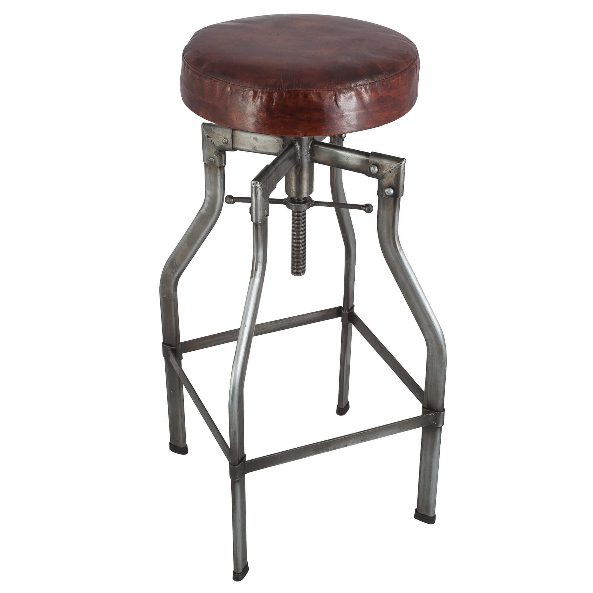 Turner Vintage Real Leather Industrial Style Bar Stools  sc 1 st  HomesFeed & Awesome Industrial Style Bar Stools | HomesFeed islam-shia.org
