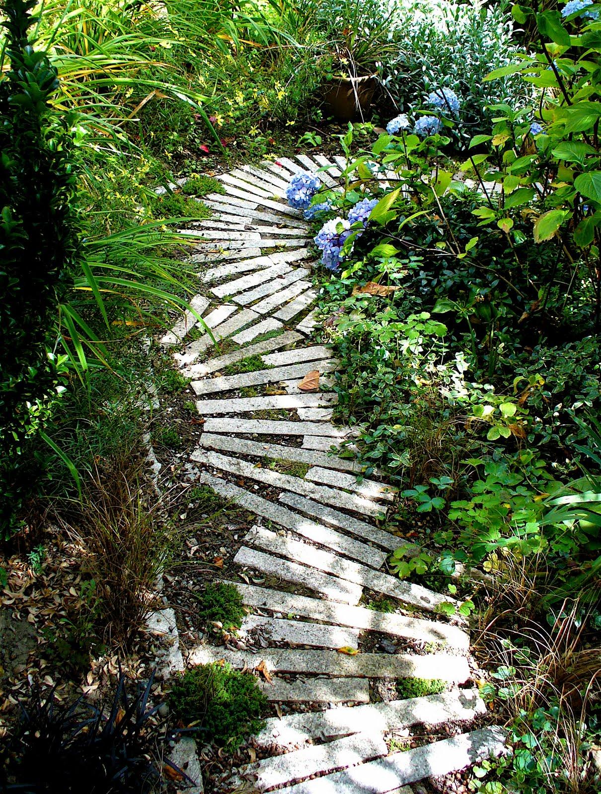 Unique Garden Footpath Designs