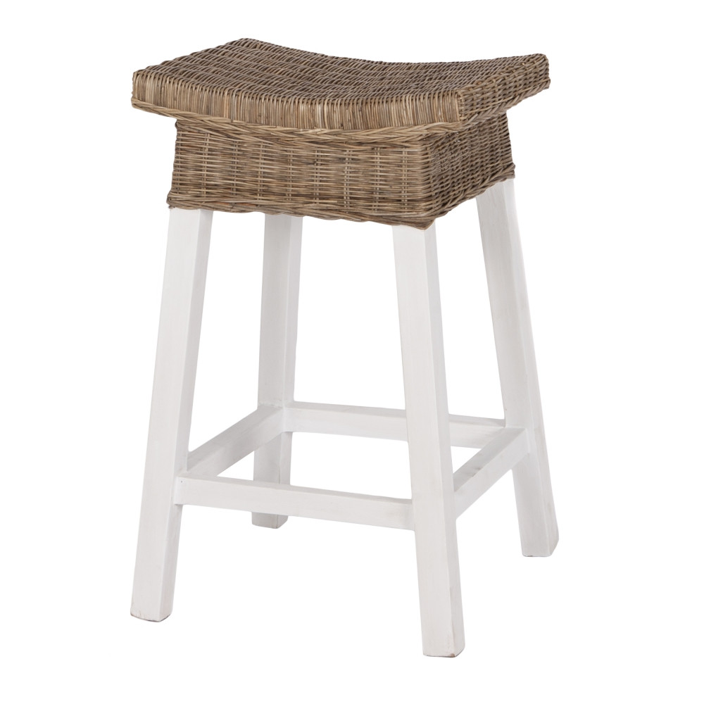 White Wood Bar Stools
