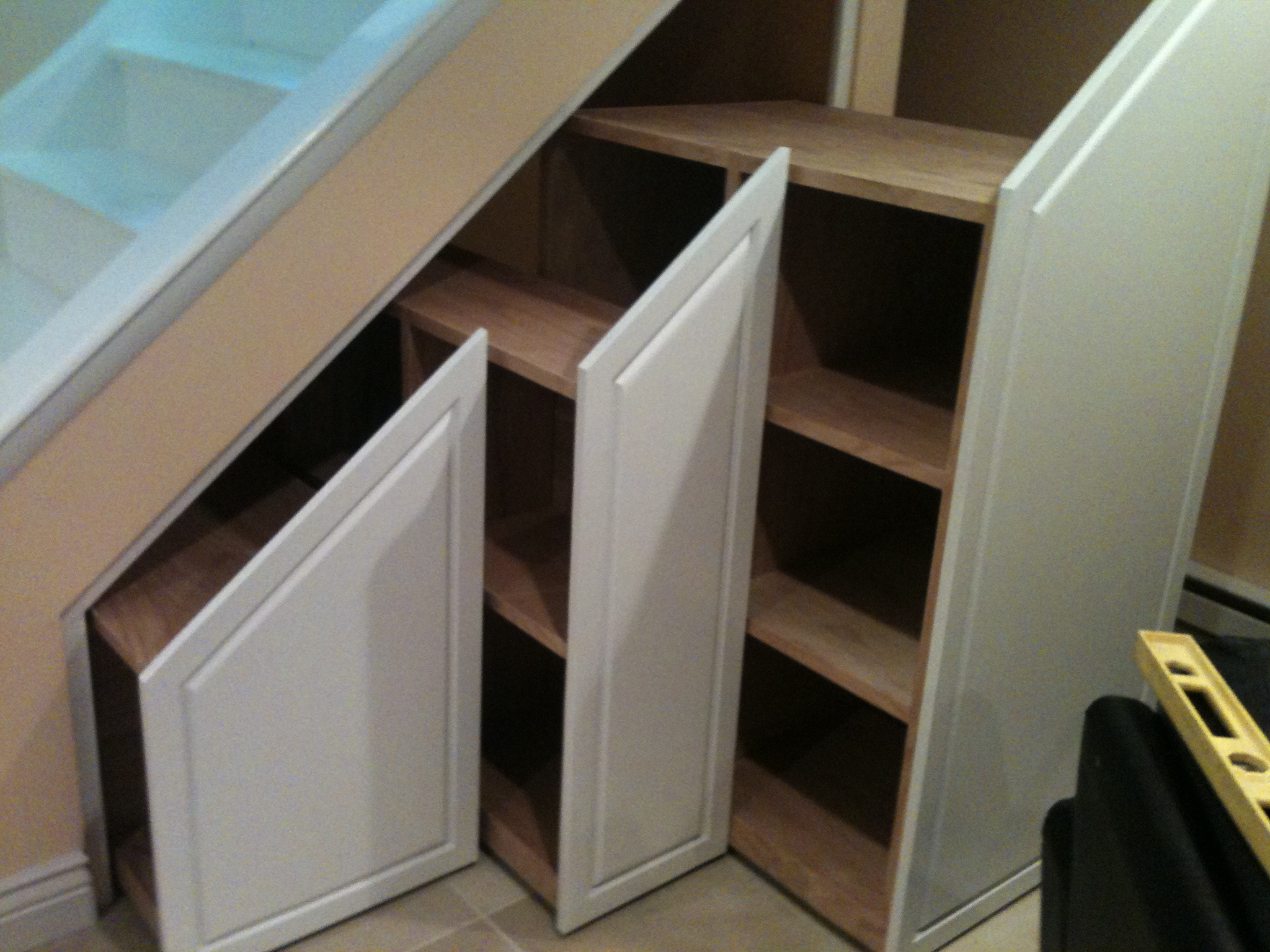 cupboard under the stairs arrangement homesfeed