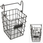 Wall Mount Wire Basket For Kitchen Stuffs