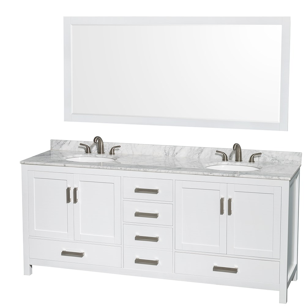 80 inch bathroom vanity ideas homesfeed for 80s bathroom ideas