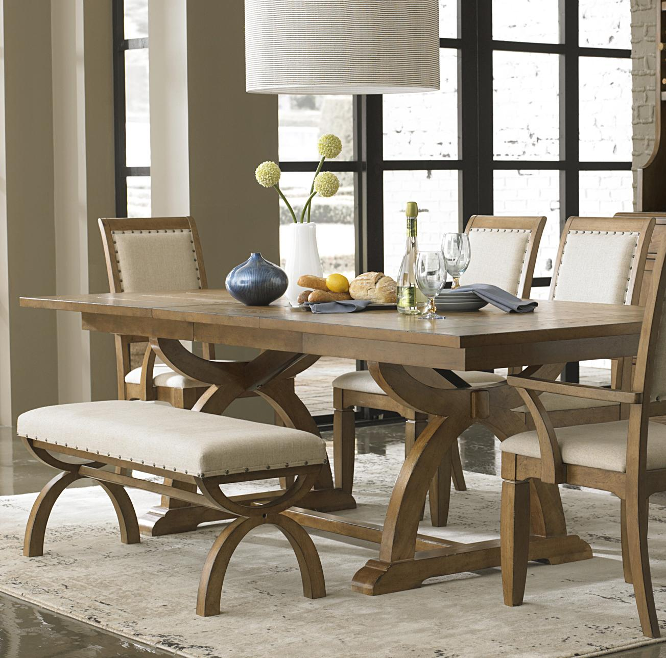 Tall Restoration Hardware Wood Dining Room Chairs