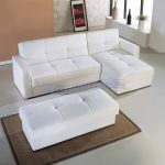 White Apartment Size Sleeper Sofa