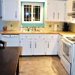 White Cabinets To Go Reviews With Rectangular Wooden Table