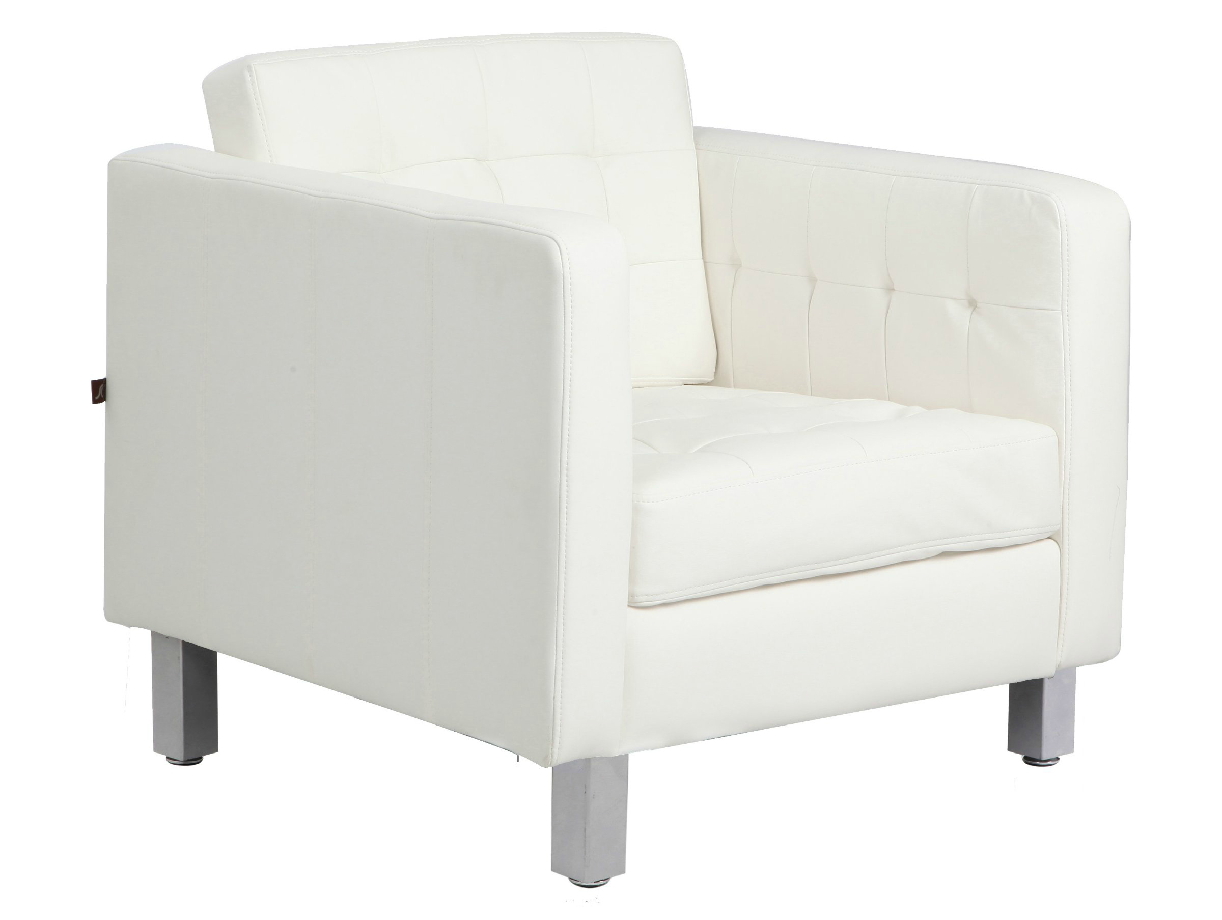 Comfortable chairs for living room - White Comfortable Accent Chairs