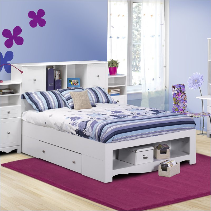 Full bed frame with storage a smart solution for extra Full bed frame with storage