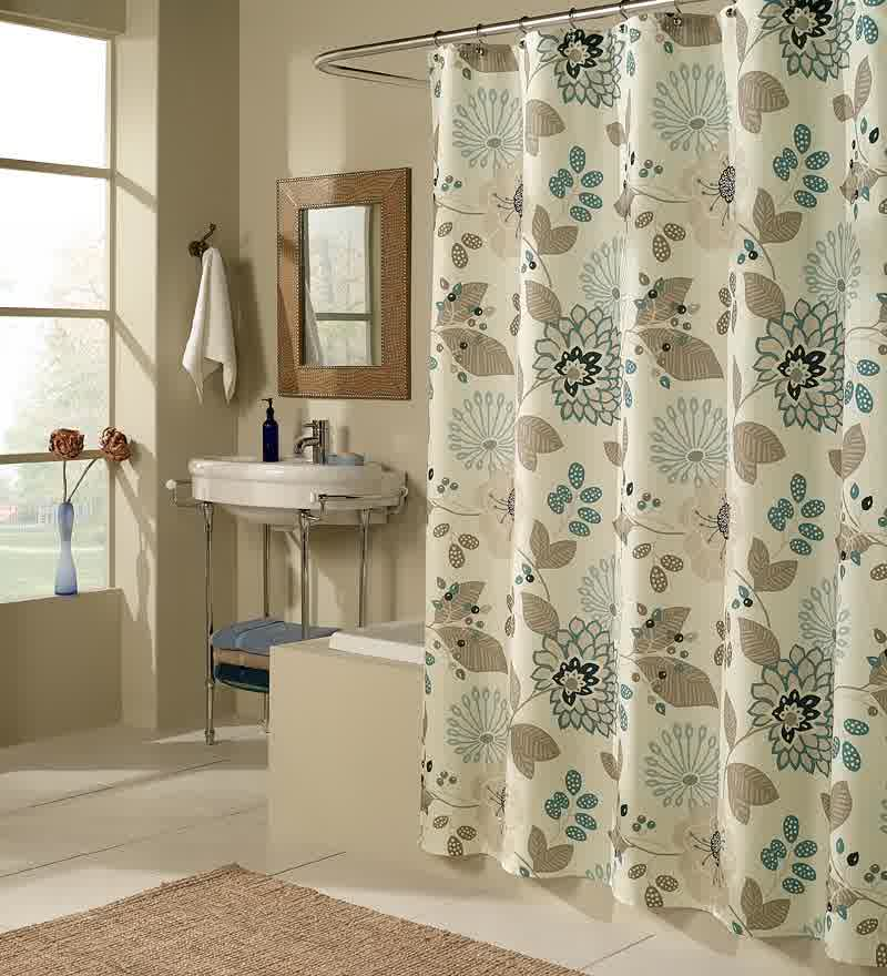 Smart Tips of Using Cloth Shower Curtains | HomesFeed