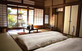 White futon originally coming from Japan