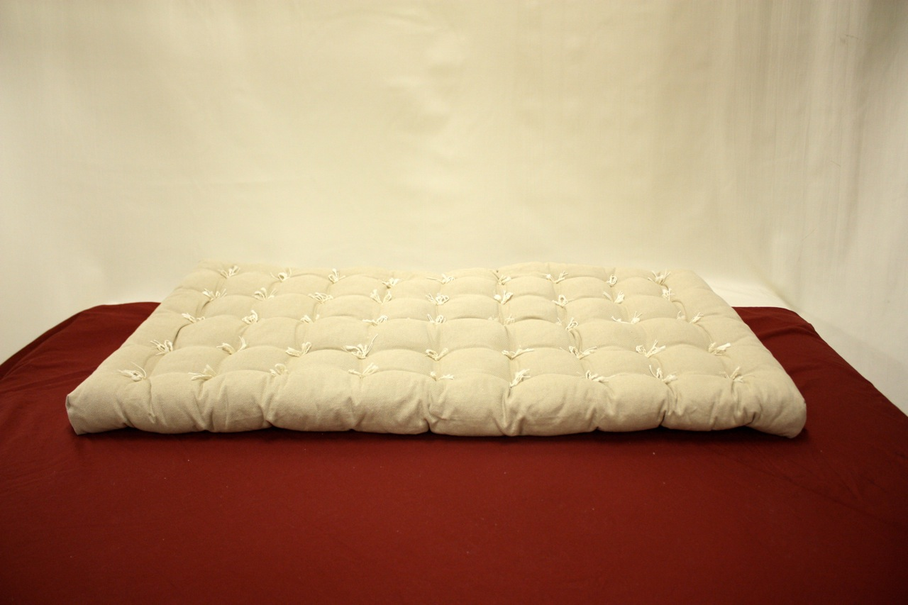 White Futon Pad Idea