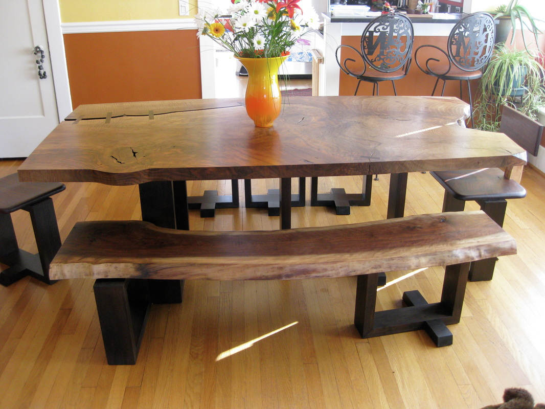 Wood Dining Table With Bench Large Size Of Tables U0026amp Chairs