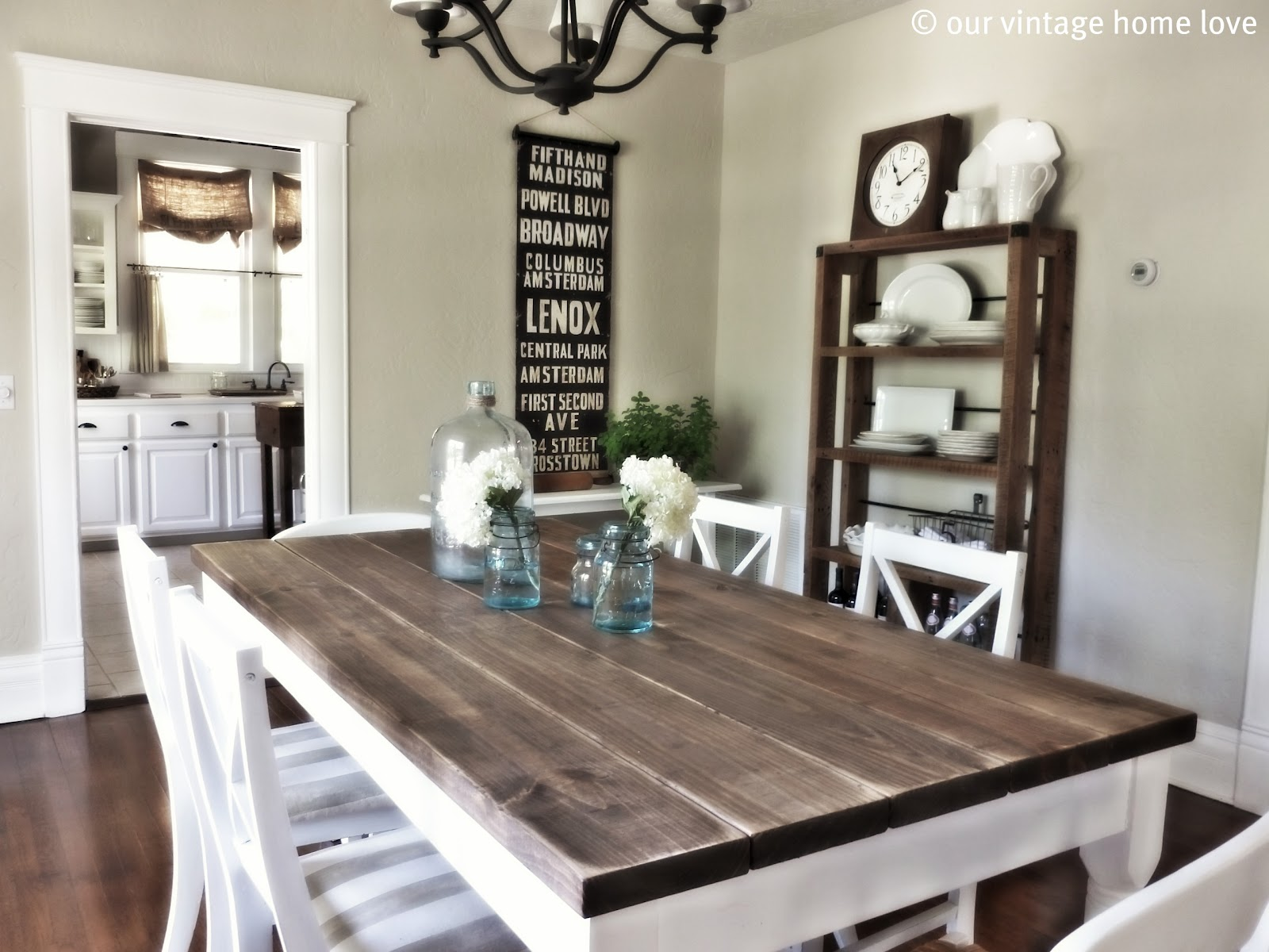 Wooden Dining Room Sets Target With White And Brown Theme