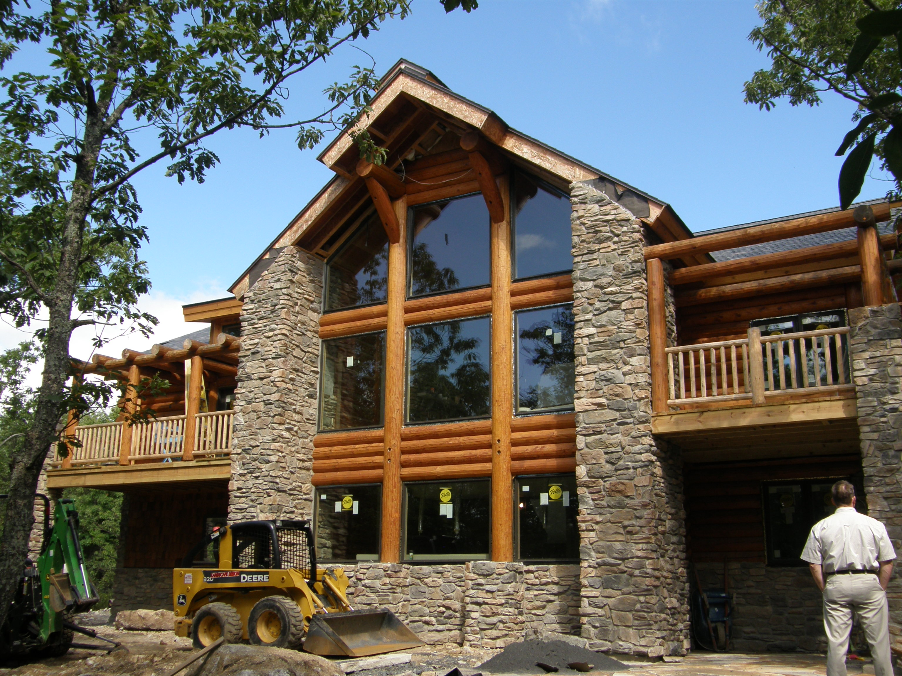 Rustic stone house floor plans house plans with stone Stone and wood house plans