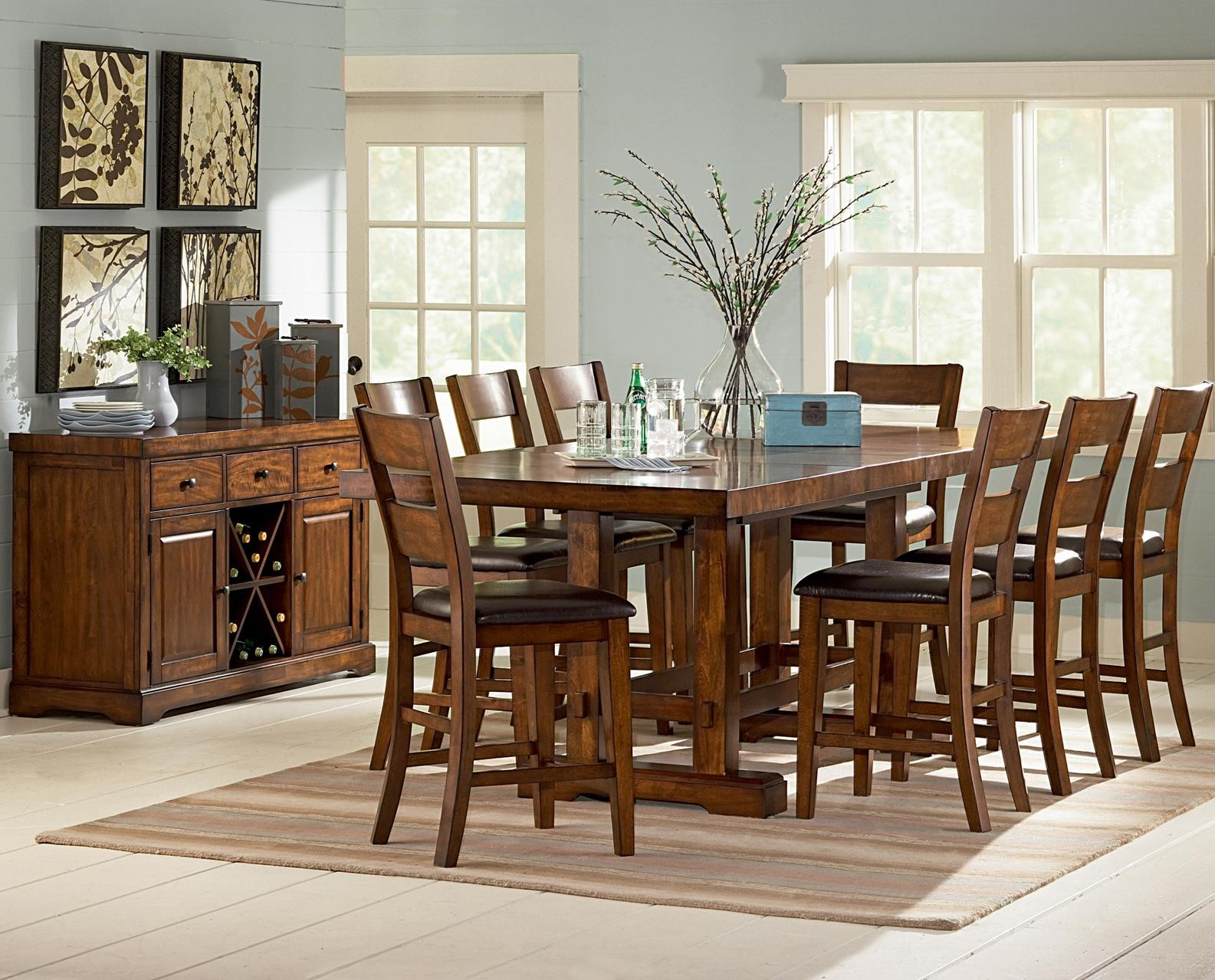 Counter height dinette sets homesfeed for Dinette furniture