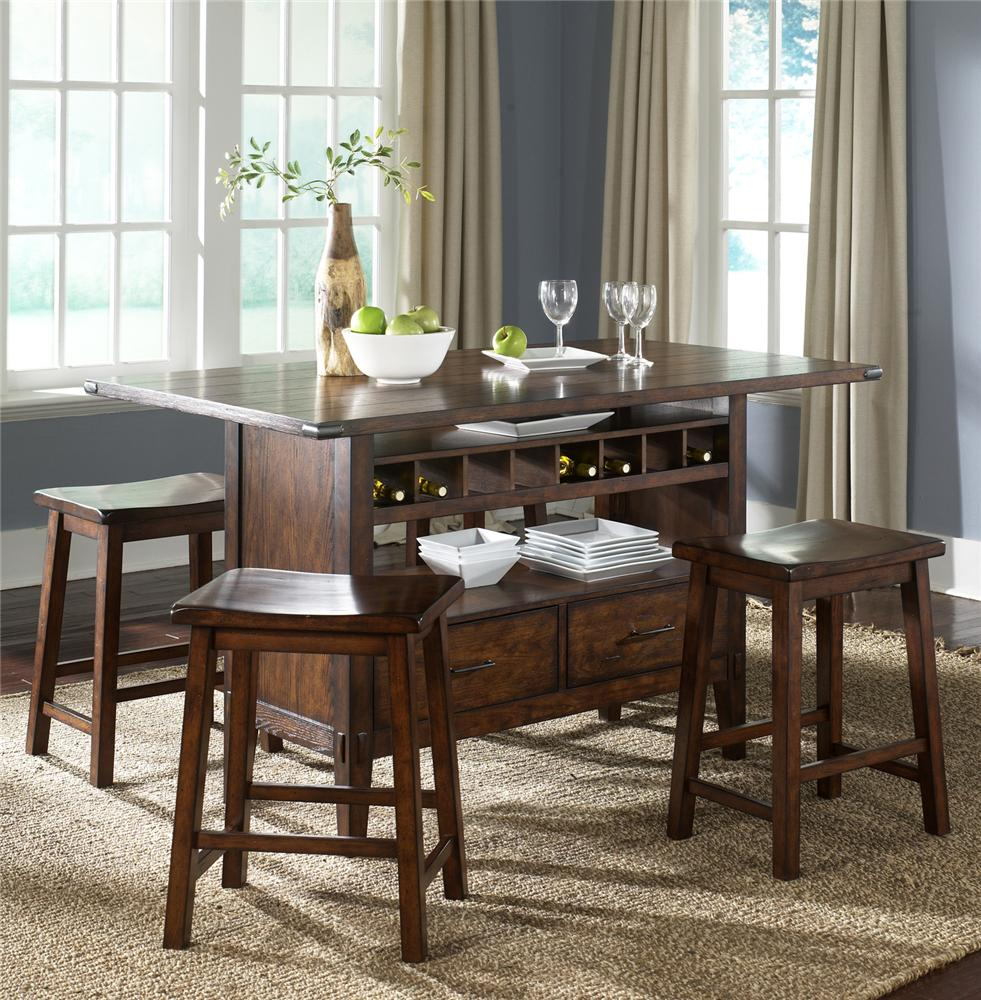 Add stylish rectangular pub table for residential or for Pub style kitchen table