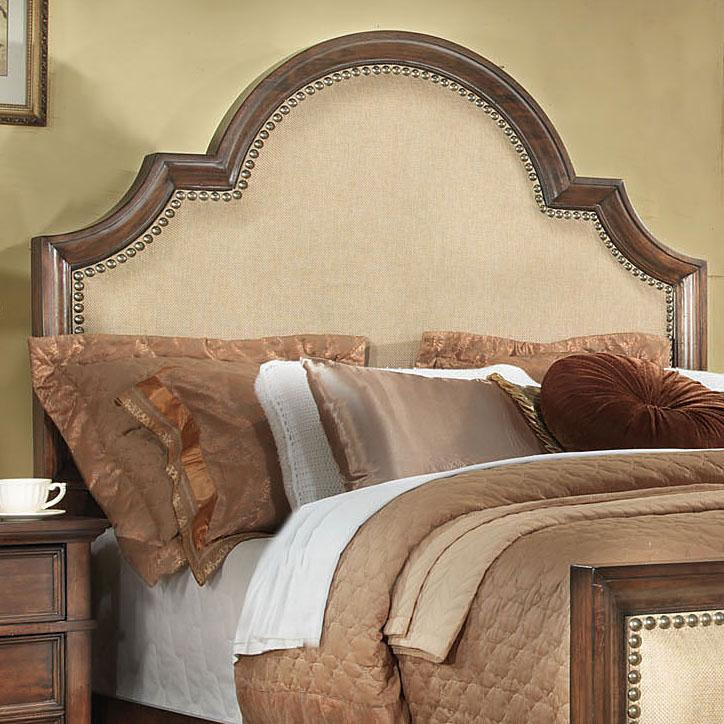 wood and fabric headboard  show home design, Headboard designs