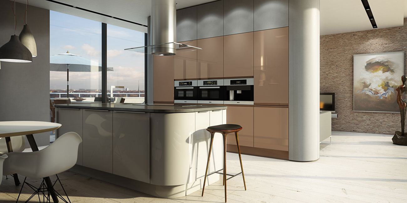 Italian kitchen the design that helps your to feel like for Italian kitchen white