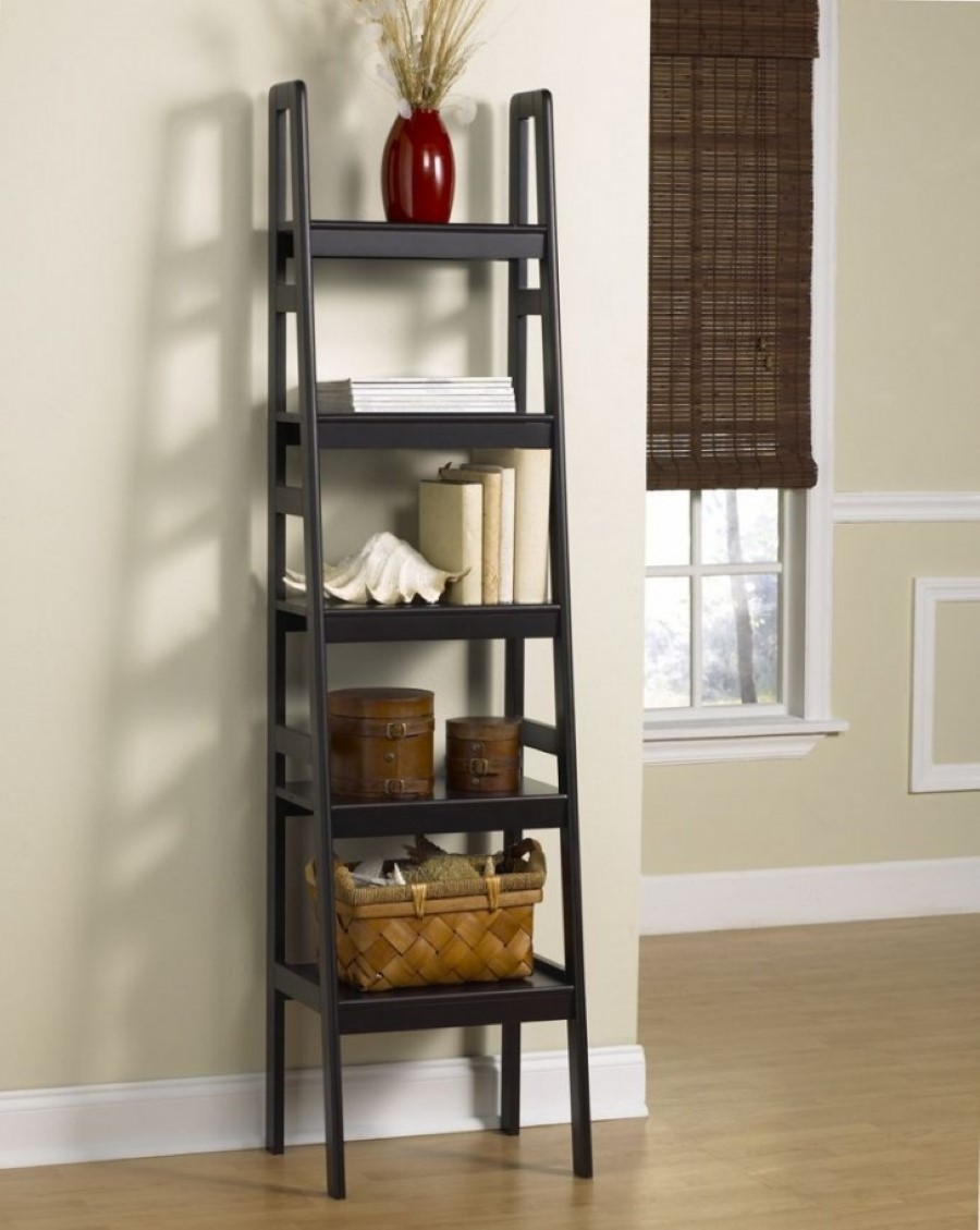 Contemporary Ladder Bookshelves Ideas for Unique Interior Designs ...